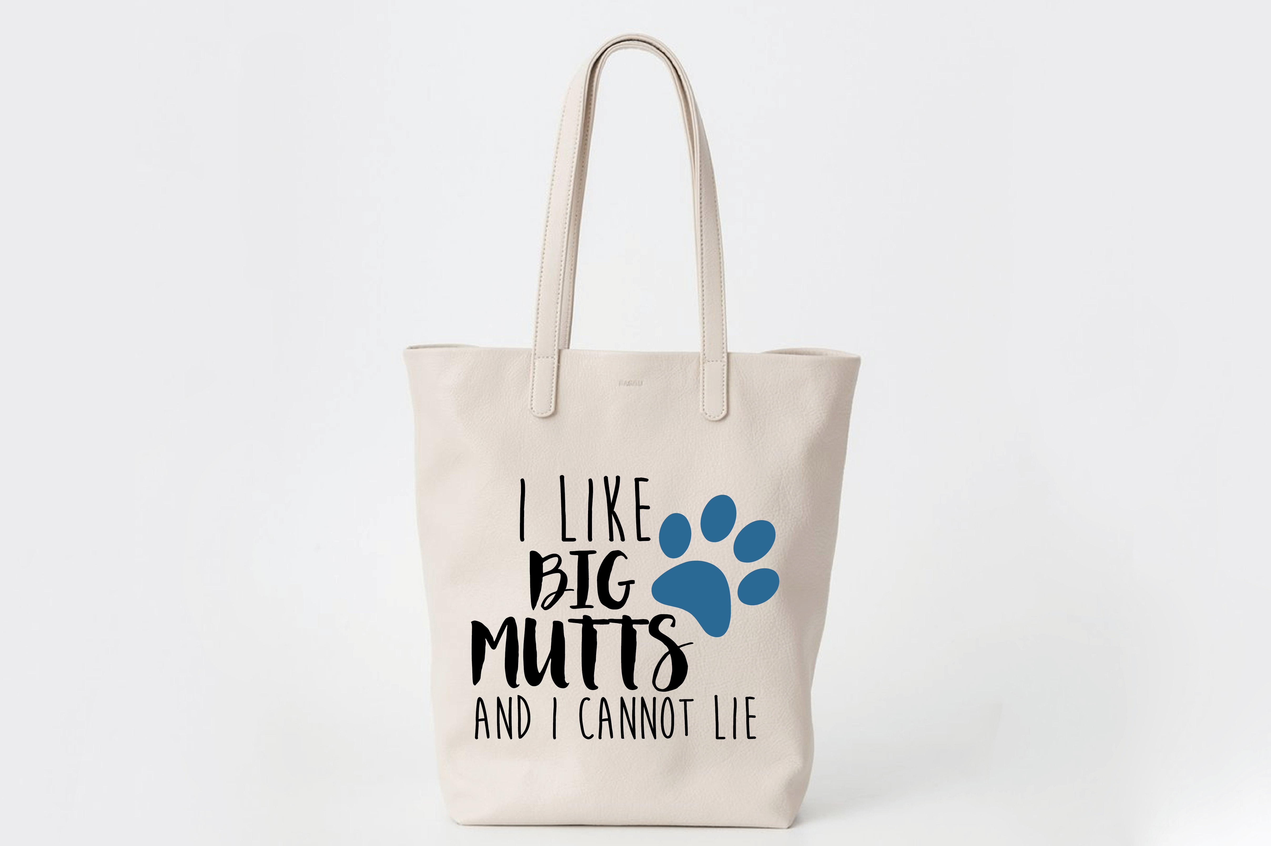 I Like Big Mutts and I Cannot Lie SVG Cut File - DXF - EPS example image 2