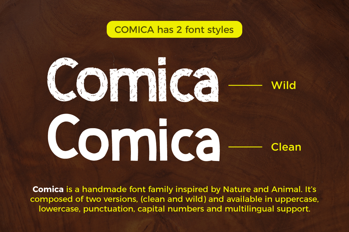 Comica  Font Duo example image 5