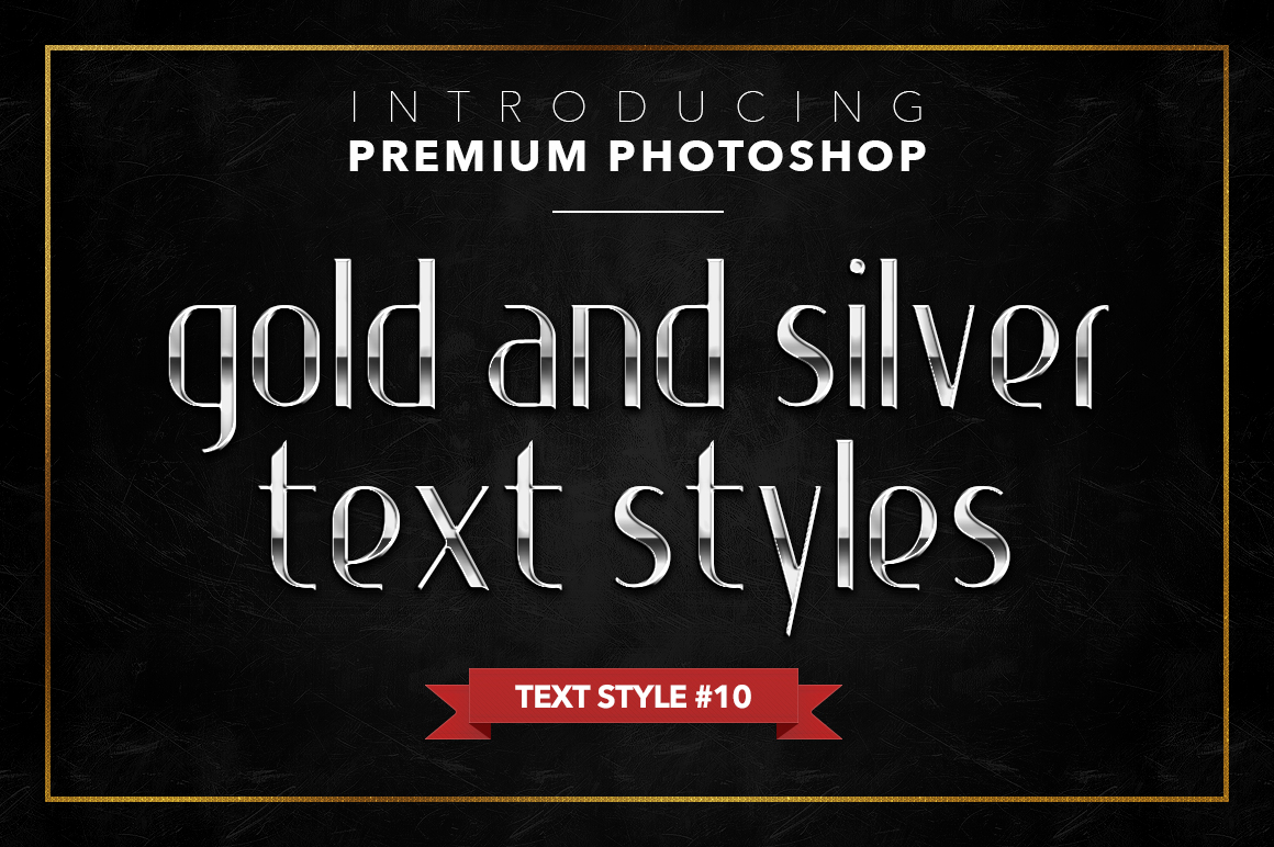 Gold & Silver #1 - 20 Text Styles example image 14