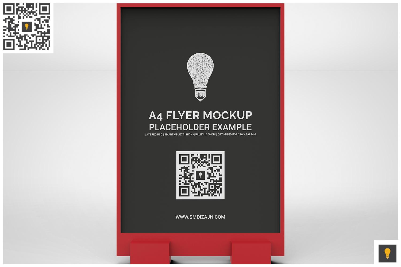 Flyer Display Mockup example image 2