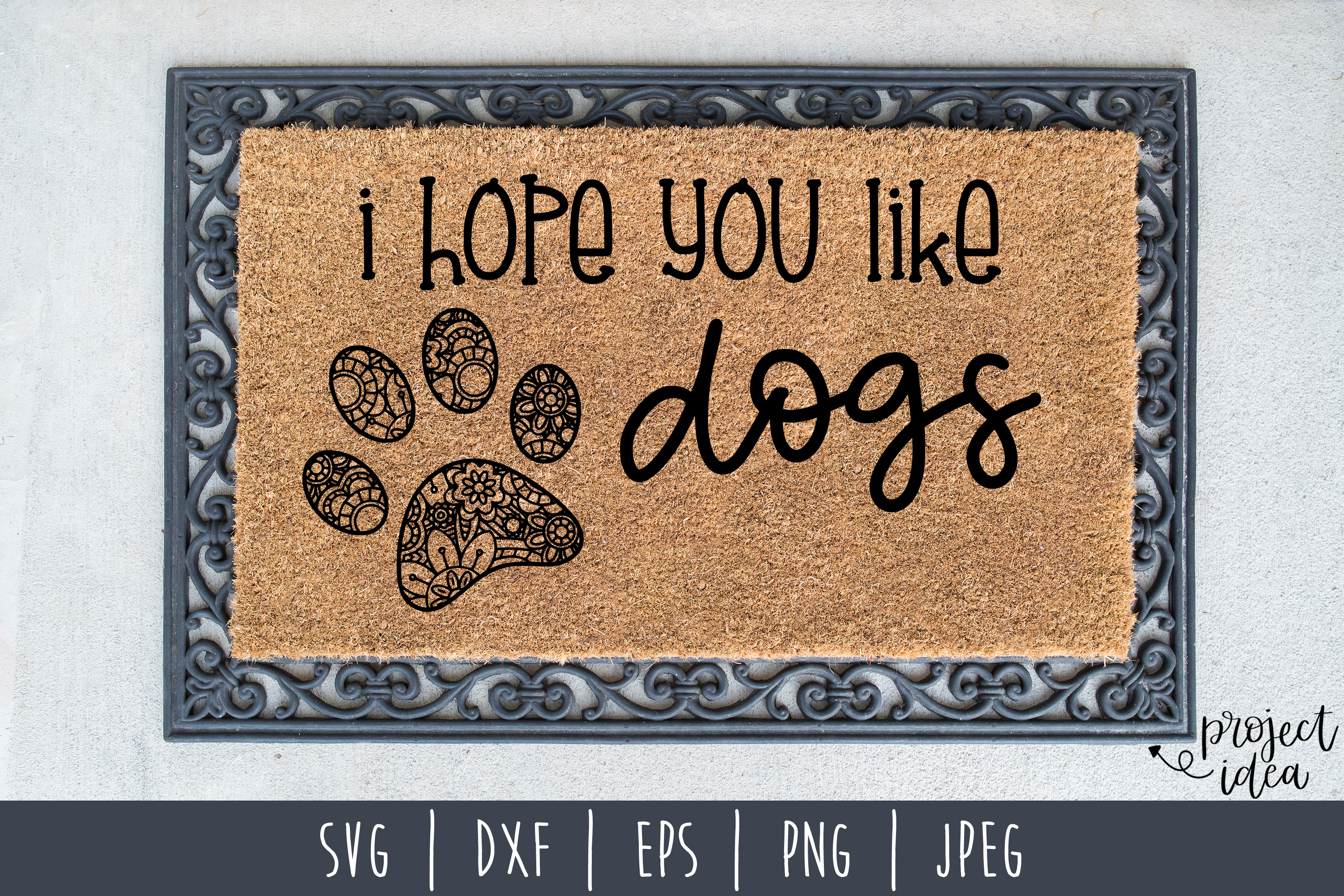 Doormat Bundle Set of 8 - SVG example image 5