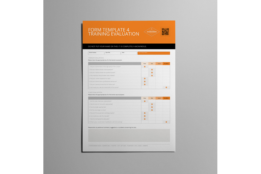 Form Template 4 Training Evaluation example image 3
