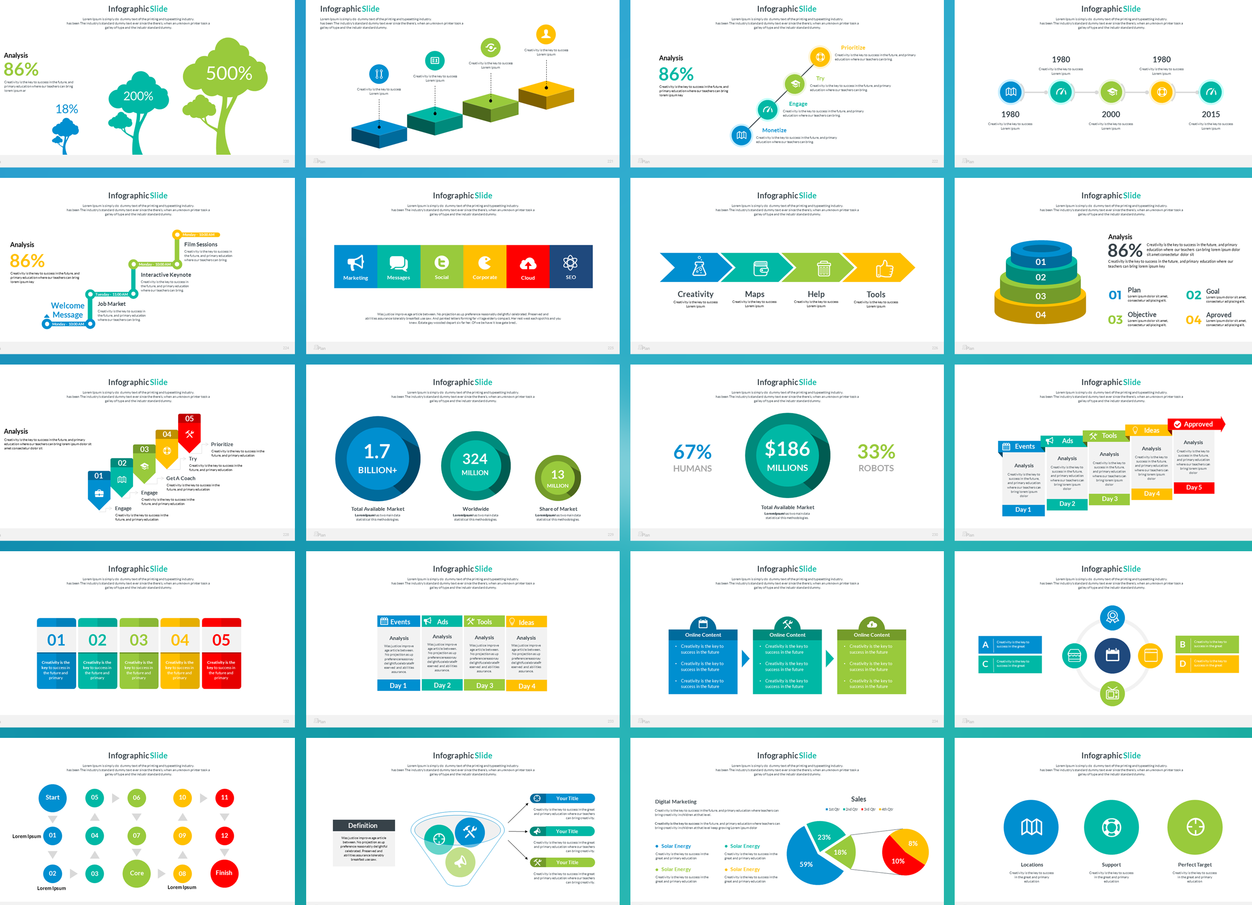 Business Plan Keynote Presentation Template example image 13