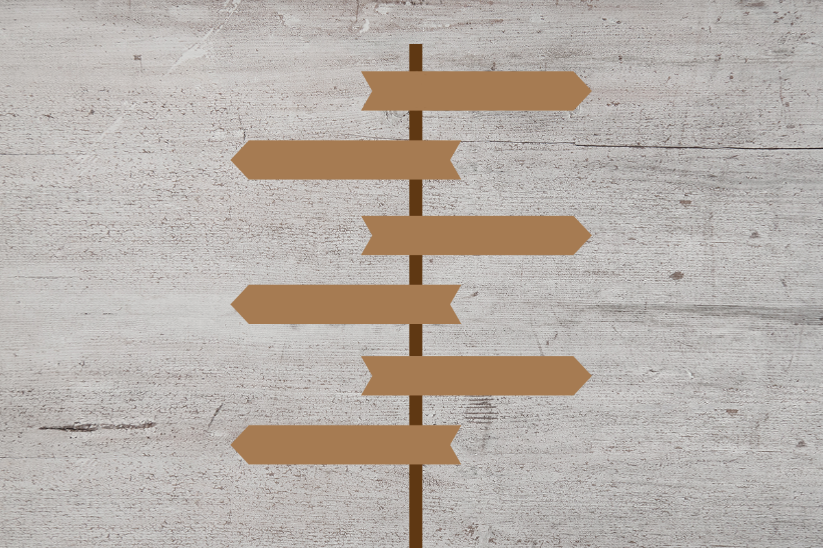 Customizable Sign Post SVG File example image 3