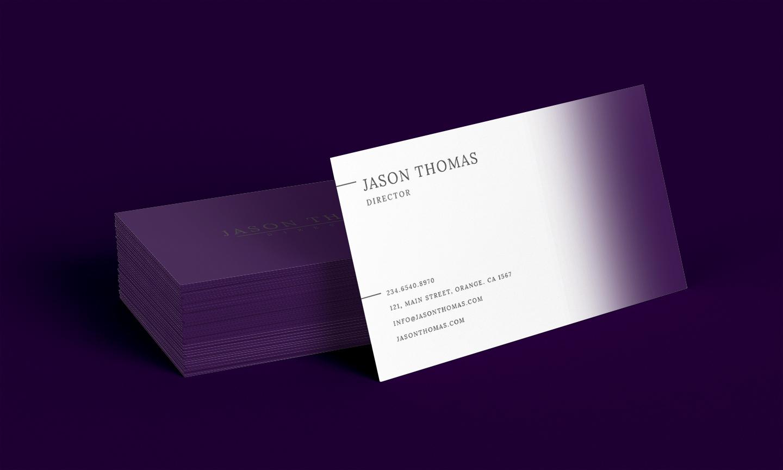Bright Colour Beautiful Elegant Business Card 6 example image 1