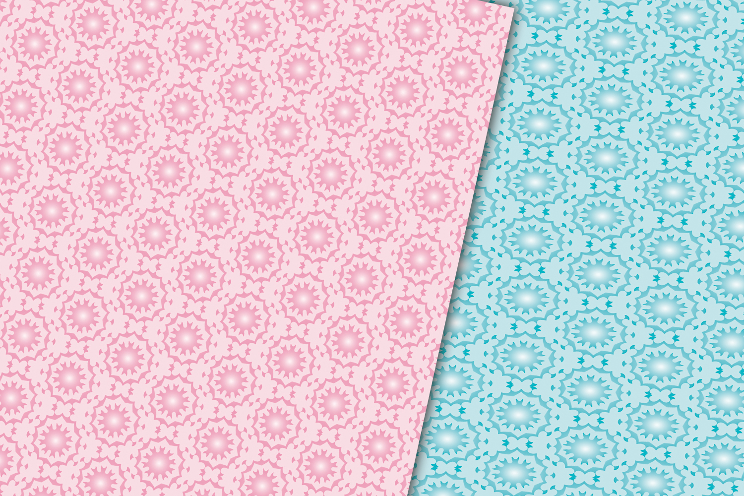 ARABIC PATTERN DIGITAL PAPERS example image 3