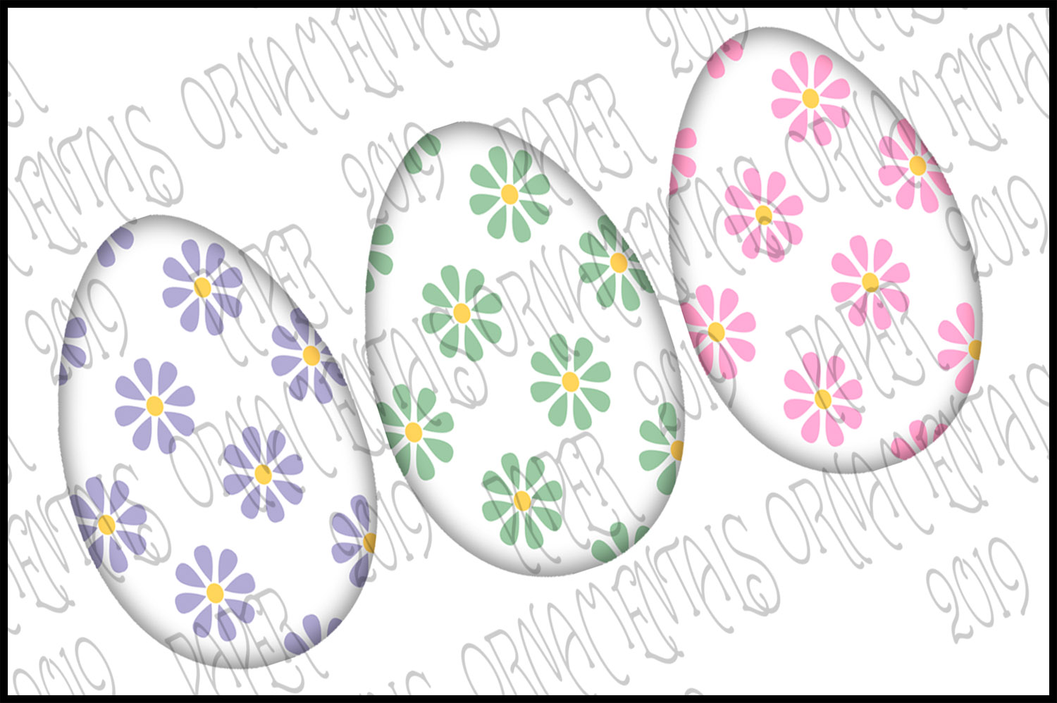 Note Cards, Easter Mini Gift Enclosure Cards Set 1 example image 4