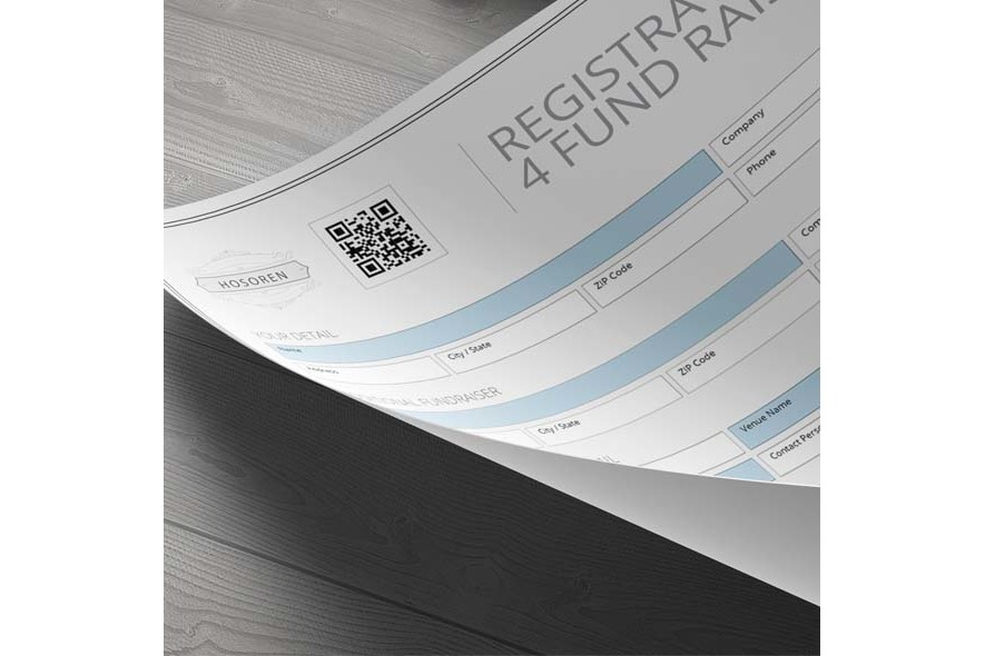Registration Form 4 Fund Raising example image 3
