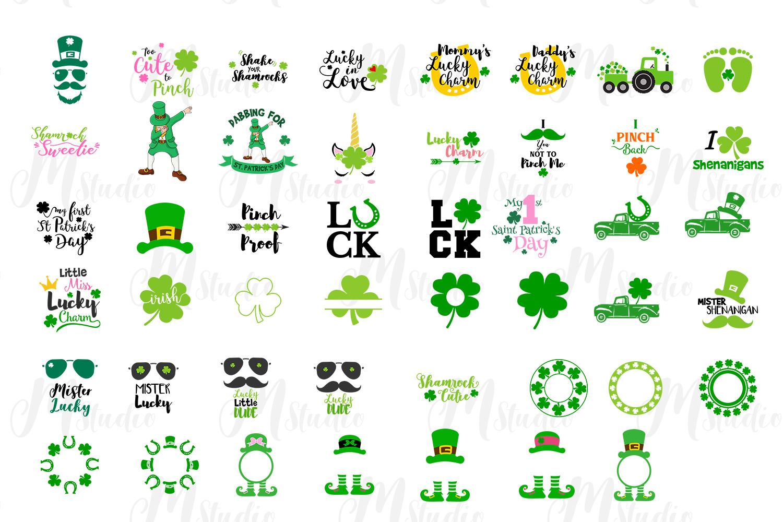 St. Patrick's Day SVG Bundle example image 2