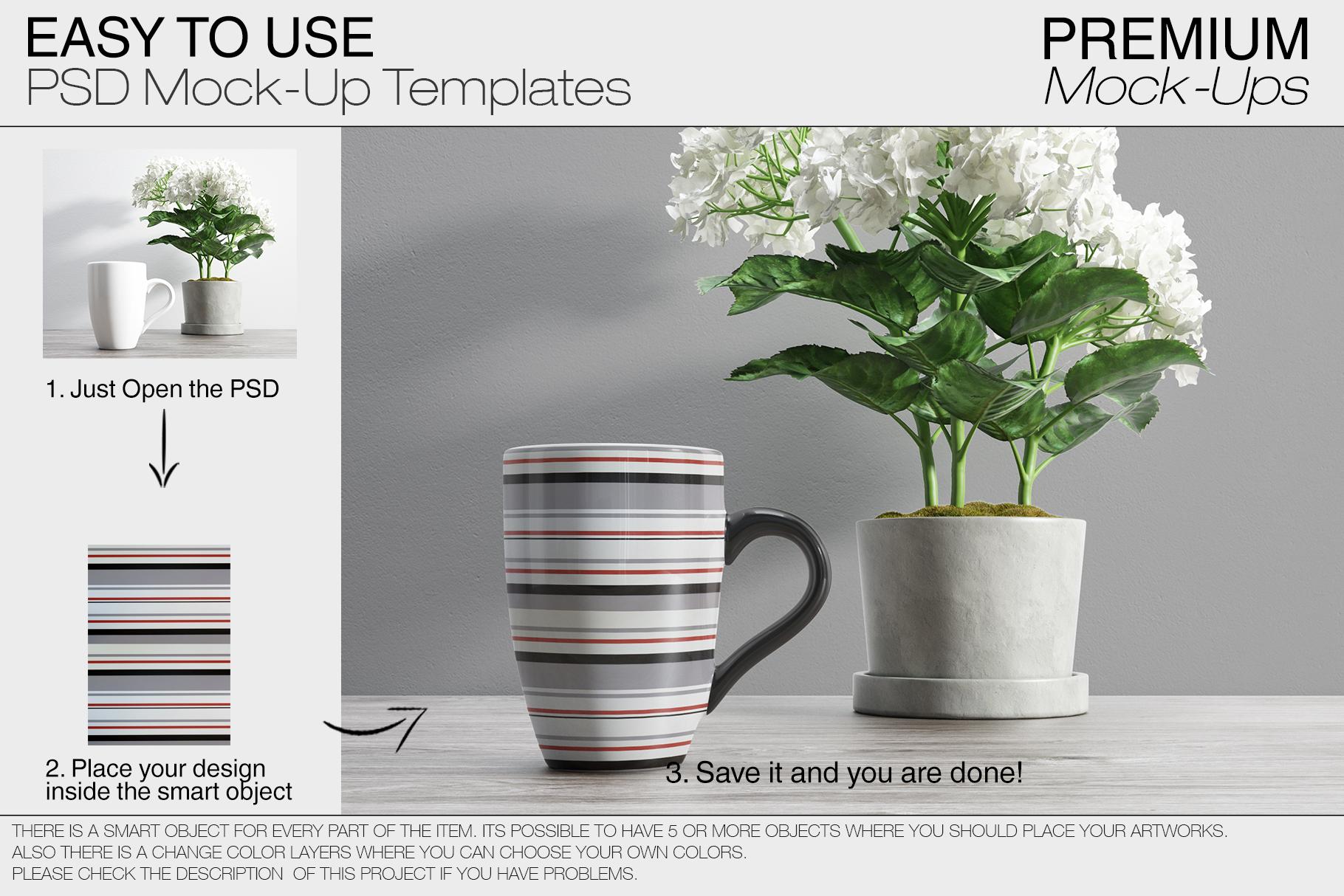 Mug Mockups - Many Shapes example image 6