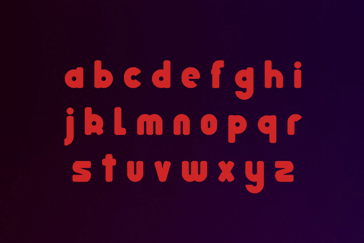Pumpkin typeface example image 3