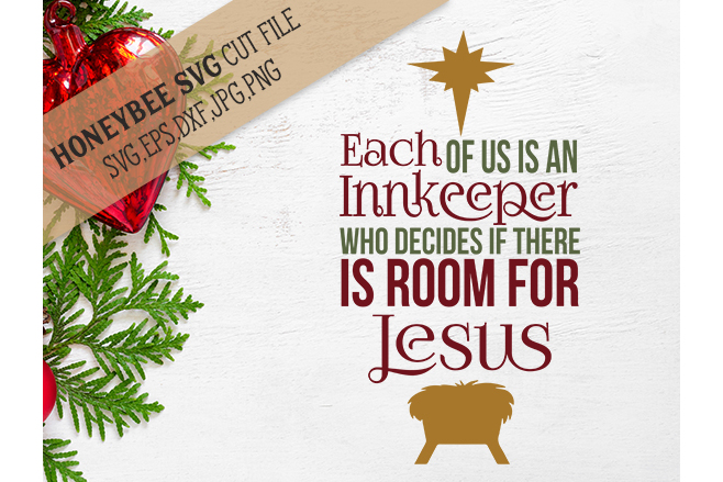 Each Of Us Is An Innkeeper svg example image 1