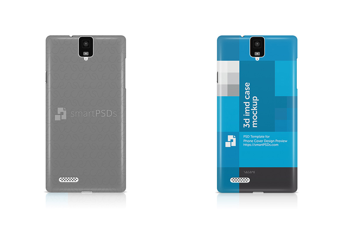 InFocus M330 3d IMD Mobile Case Design Mockup 2015 example image 1