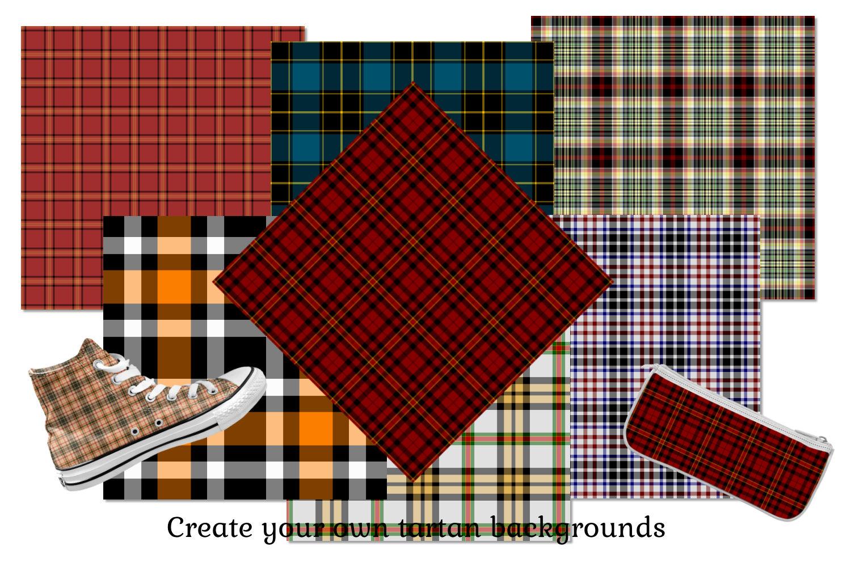 Tartan Seamless Background Tiles example image 2