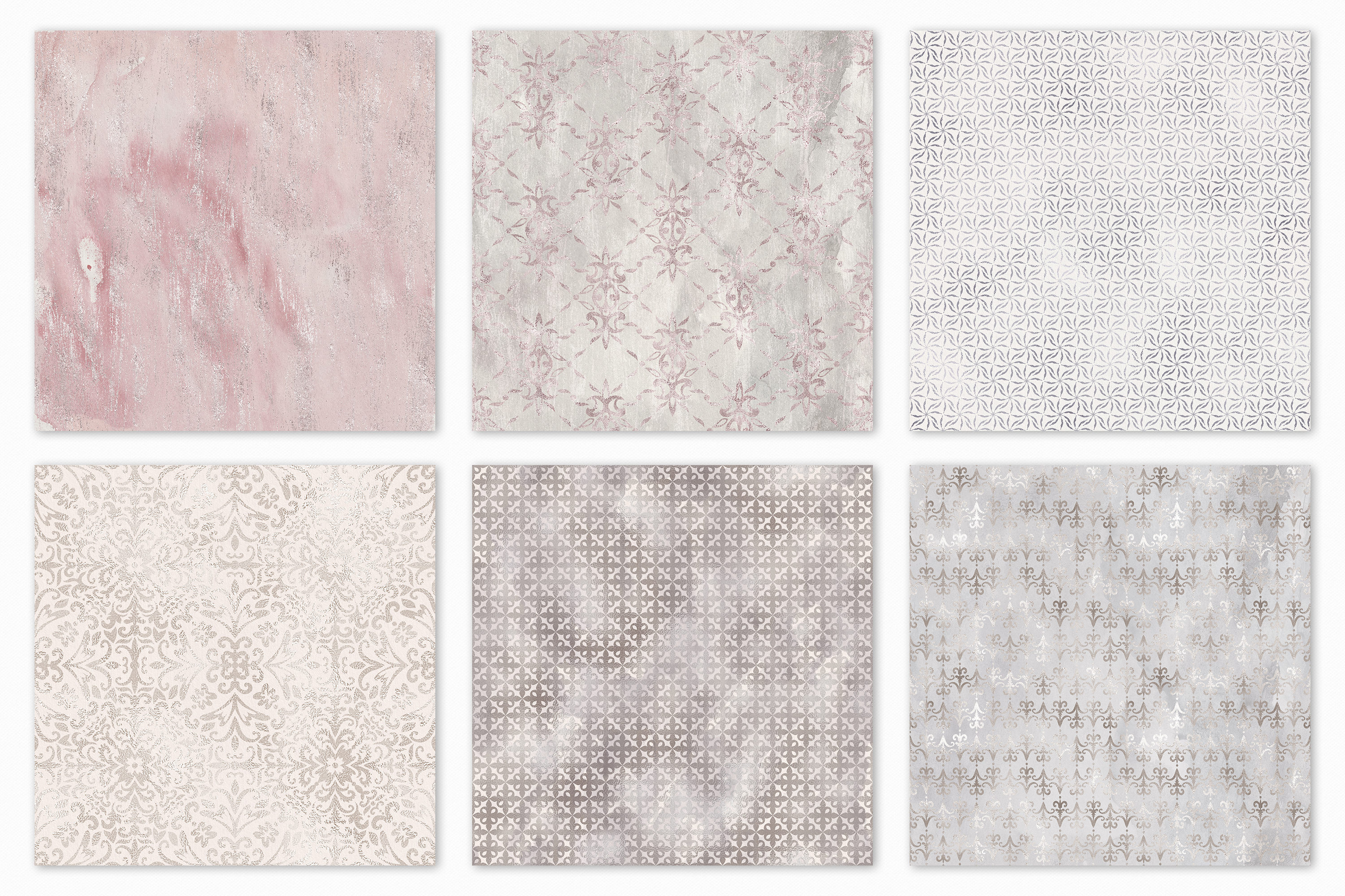20 Seamless Shabby Chic Digital Papers example image 12
