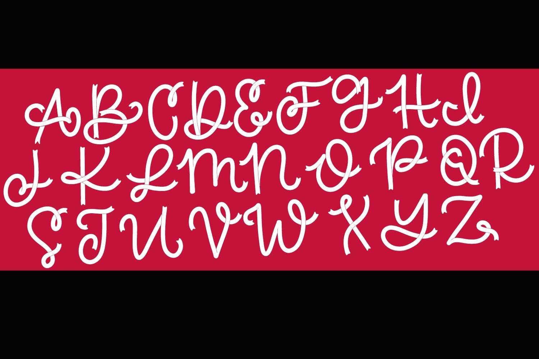 Brave - A Ribbon Monogram Font example image 10