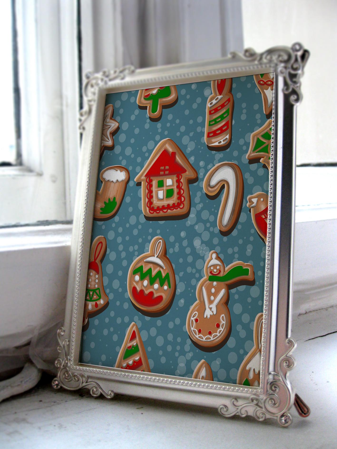 Christmas cookies set. example image 4