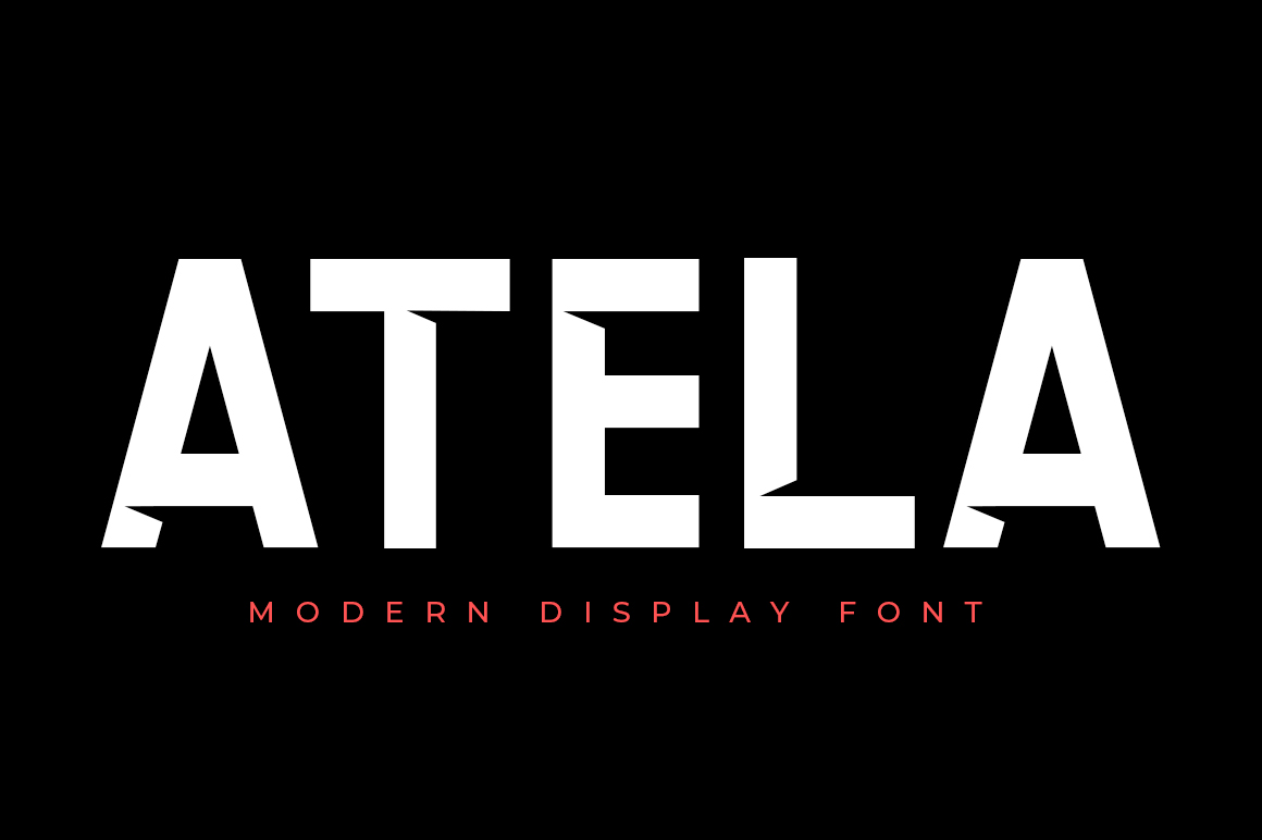 ATELA - Display Sans Serif example image 1