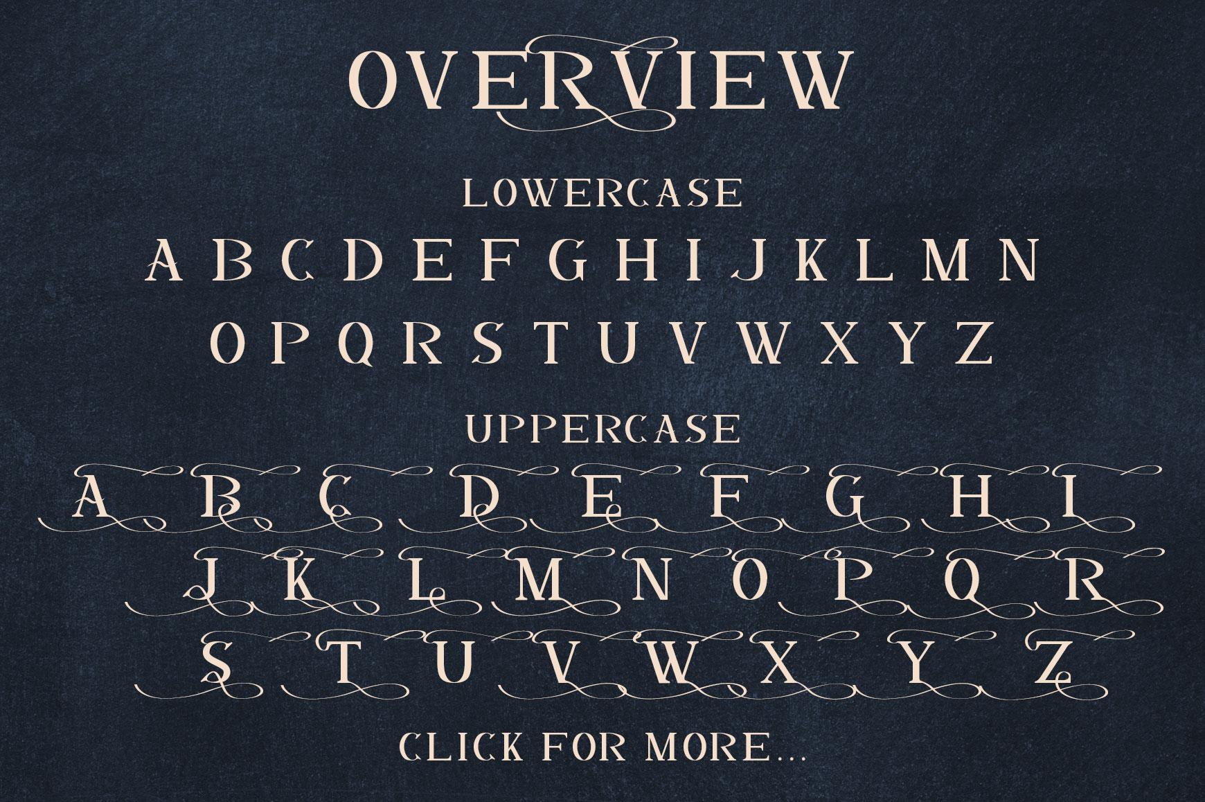 Dalmanti - Capitalized Typeface example image 6