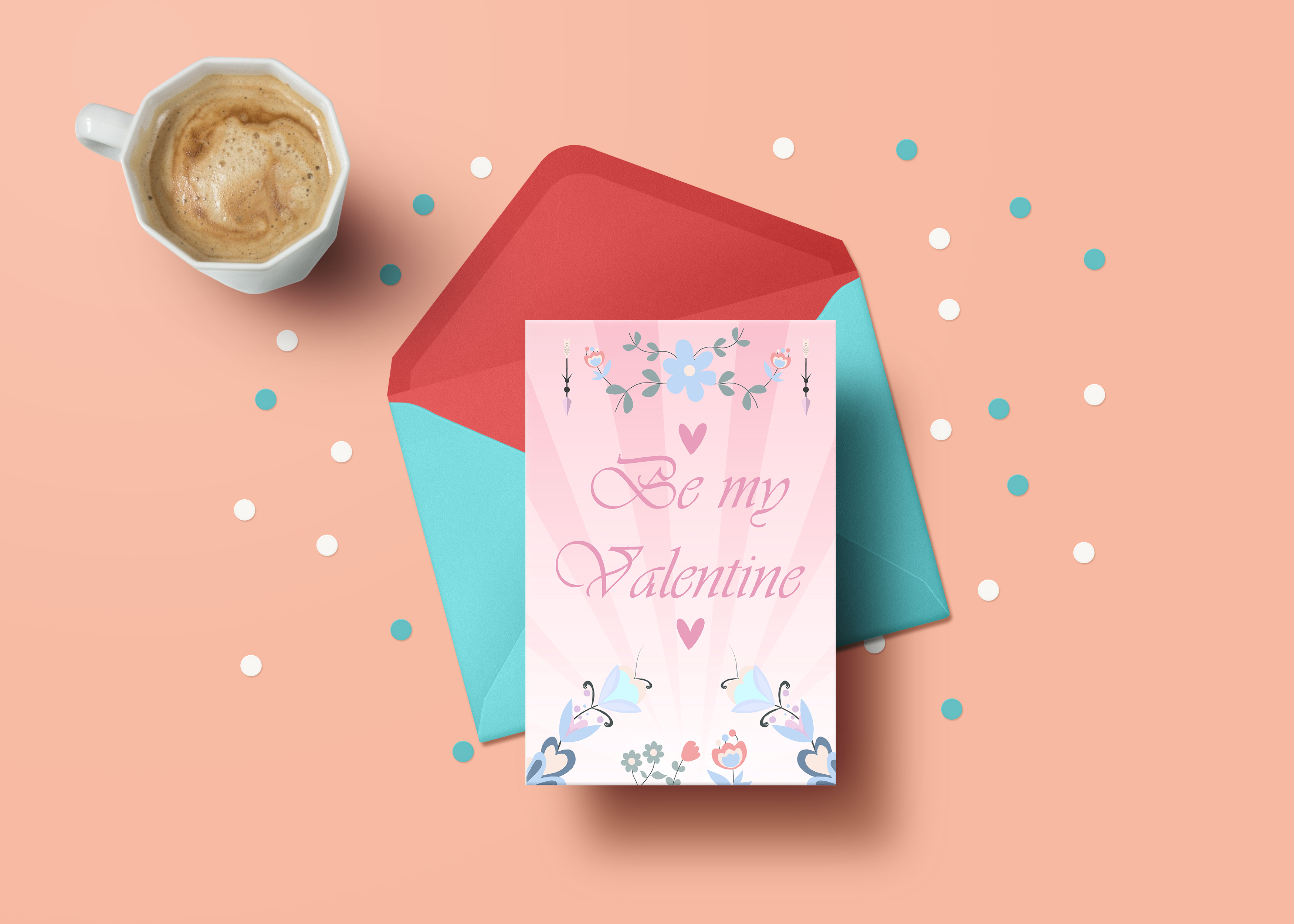 I am your Valentine vector illustration pack example image 3
