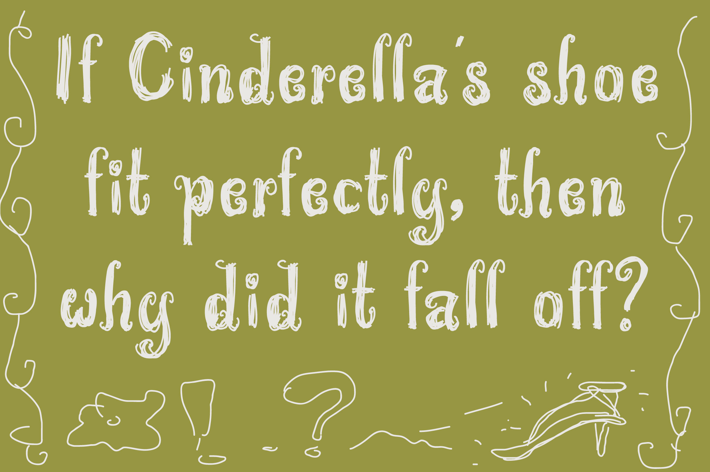 Wonderland Scratch | Pen Sketch Font example image 5