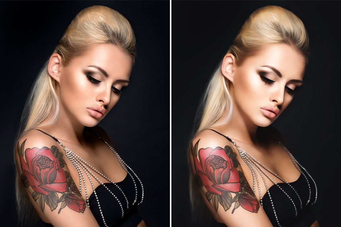 Oil Paint Photoshop Action example image 5
