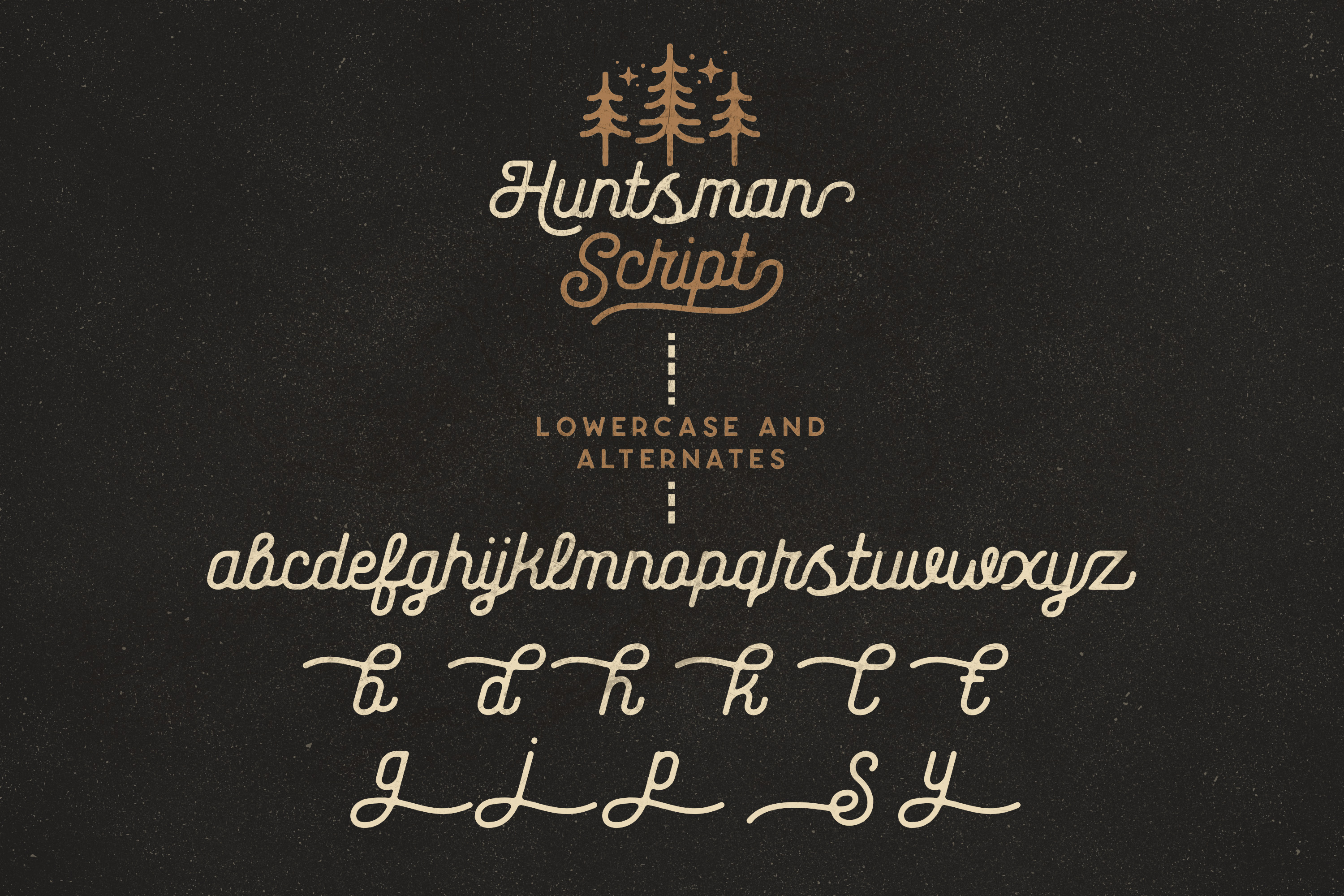 The Huntsman Script and Sans Typeface example image 11