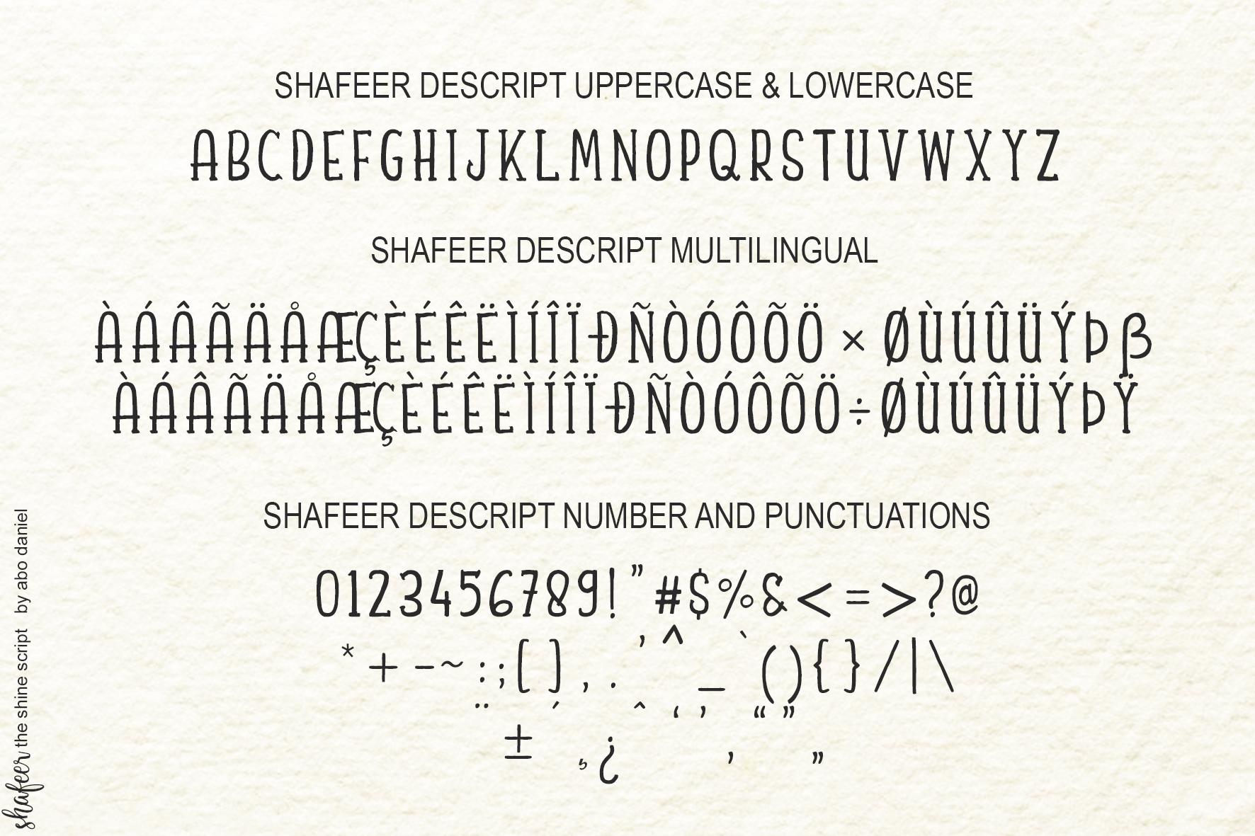 Shafeer -Beauty Font Duo- example image 17