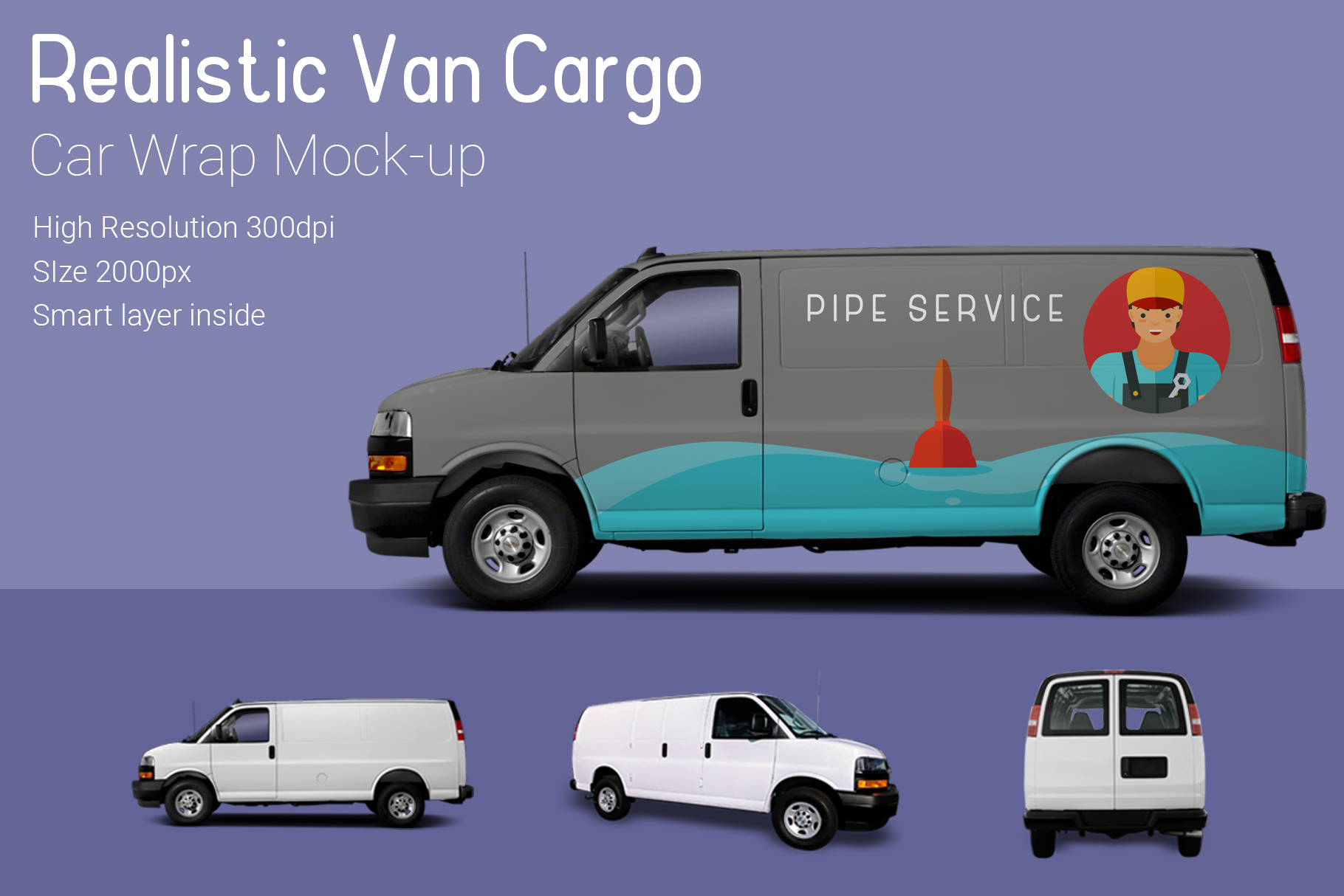 Van Mock-Up example image 1