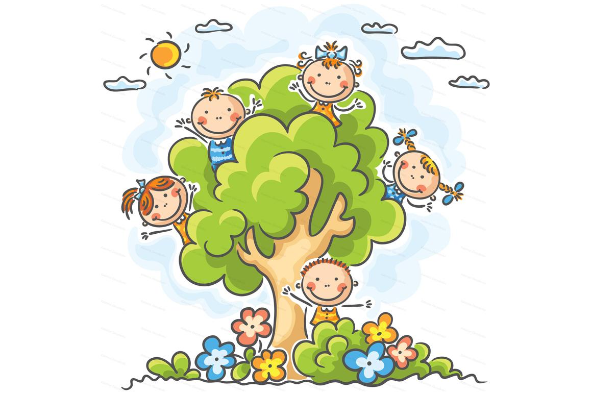 Happy Cartoon Kids Bundle, children doodle, kids doodle example image 25