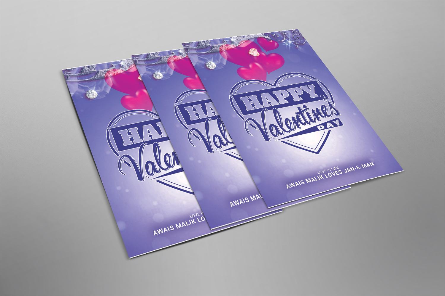 Valentine Flyer Template example image 2
