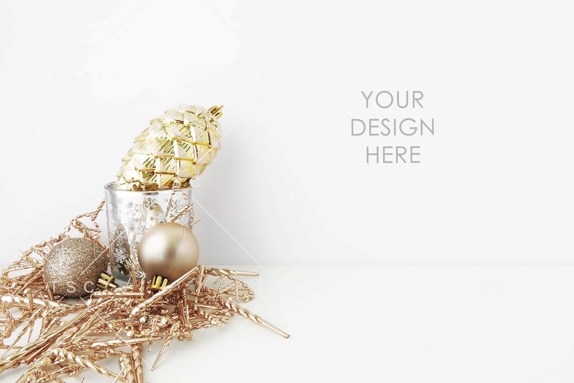 Gold Christmas Stock Photo example image 1