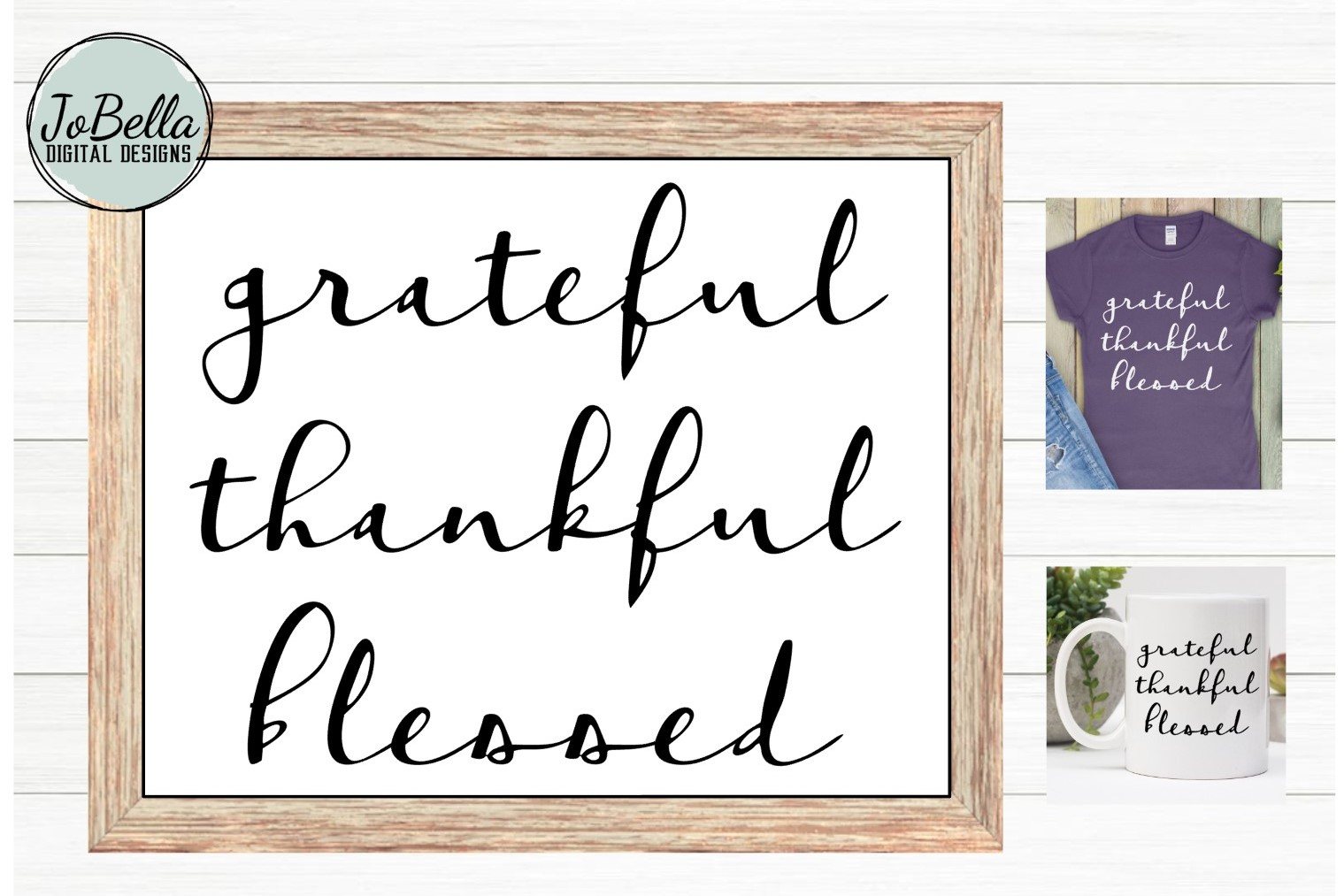 The Grateful SVG and Printable Bundle of 10 Designs example image 2