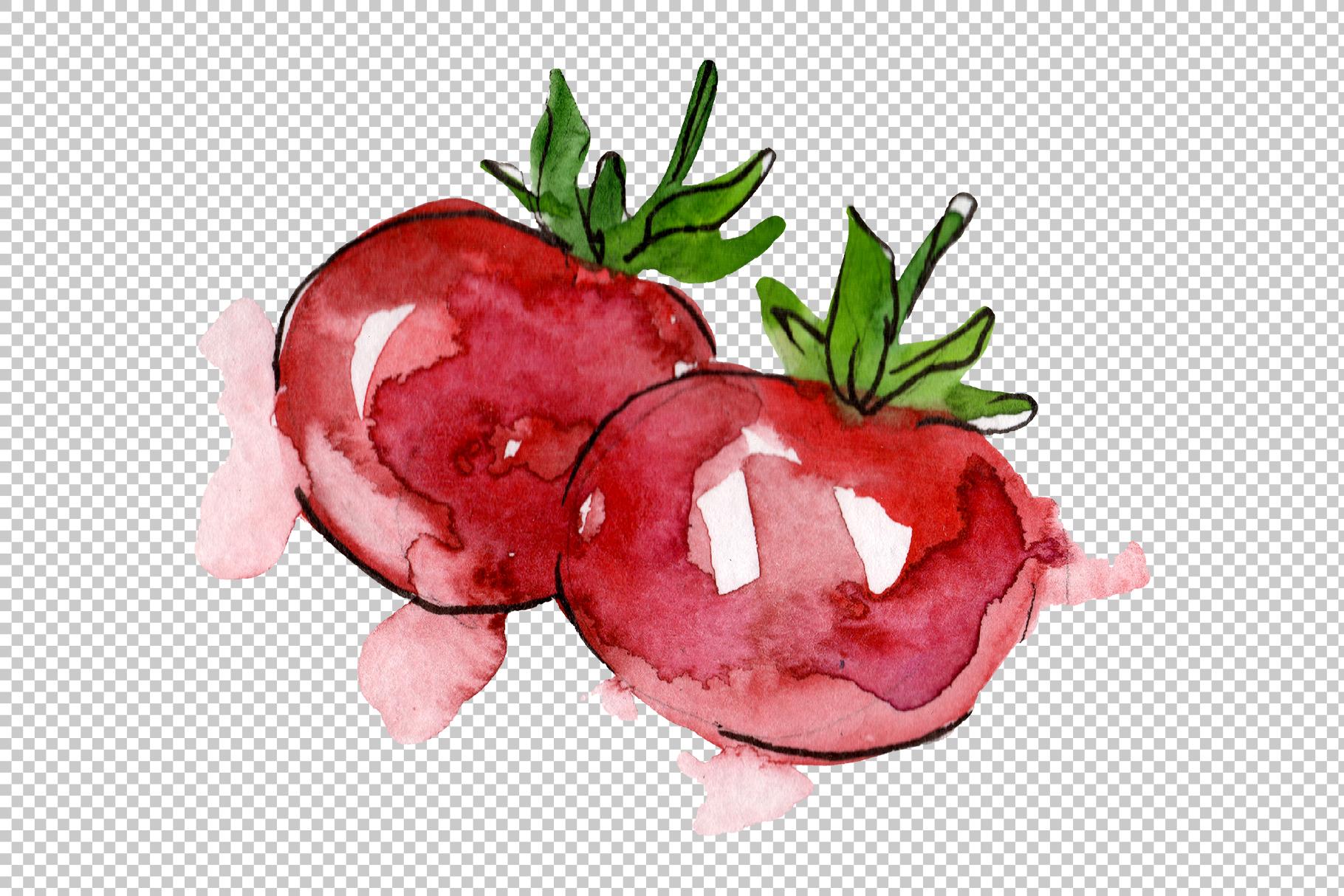 European Hamburger Watercolor png example image 2