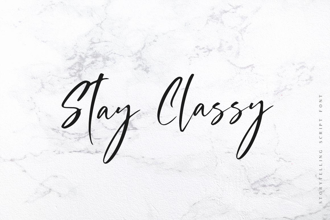 Storytelling - Modern Calligraphy example image 8