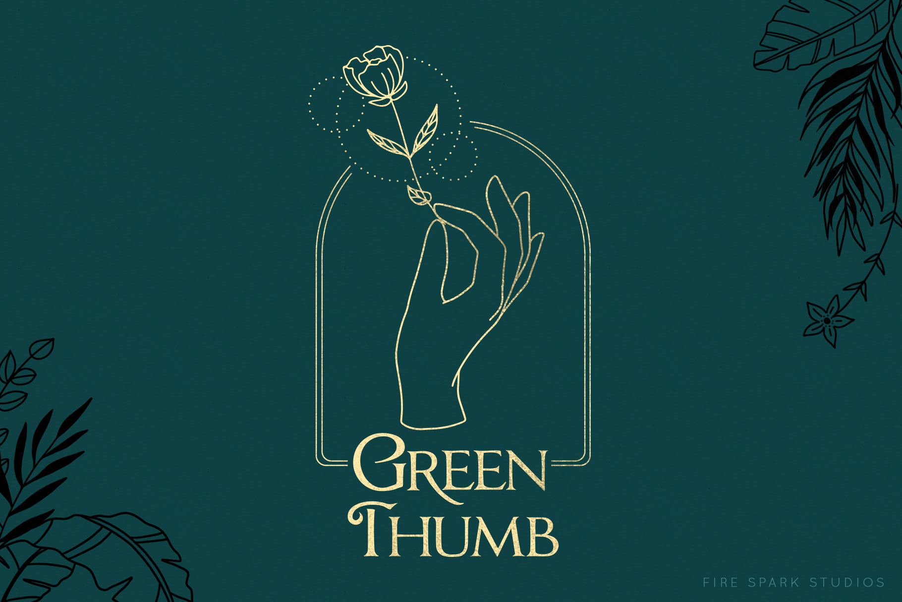 Green Thumb Illustrations & Textures example image 9