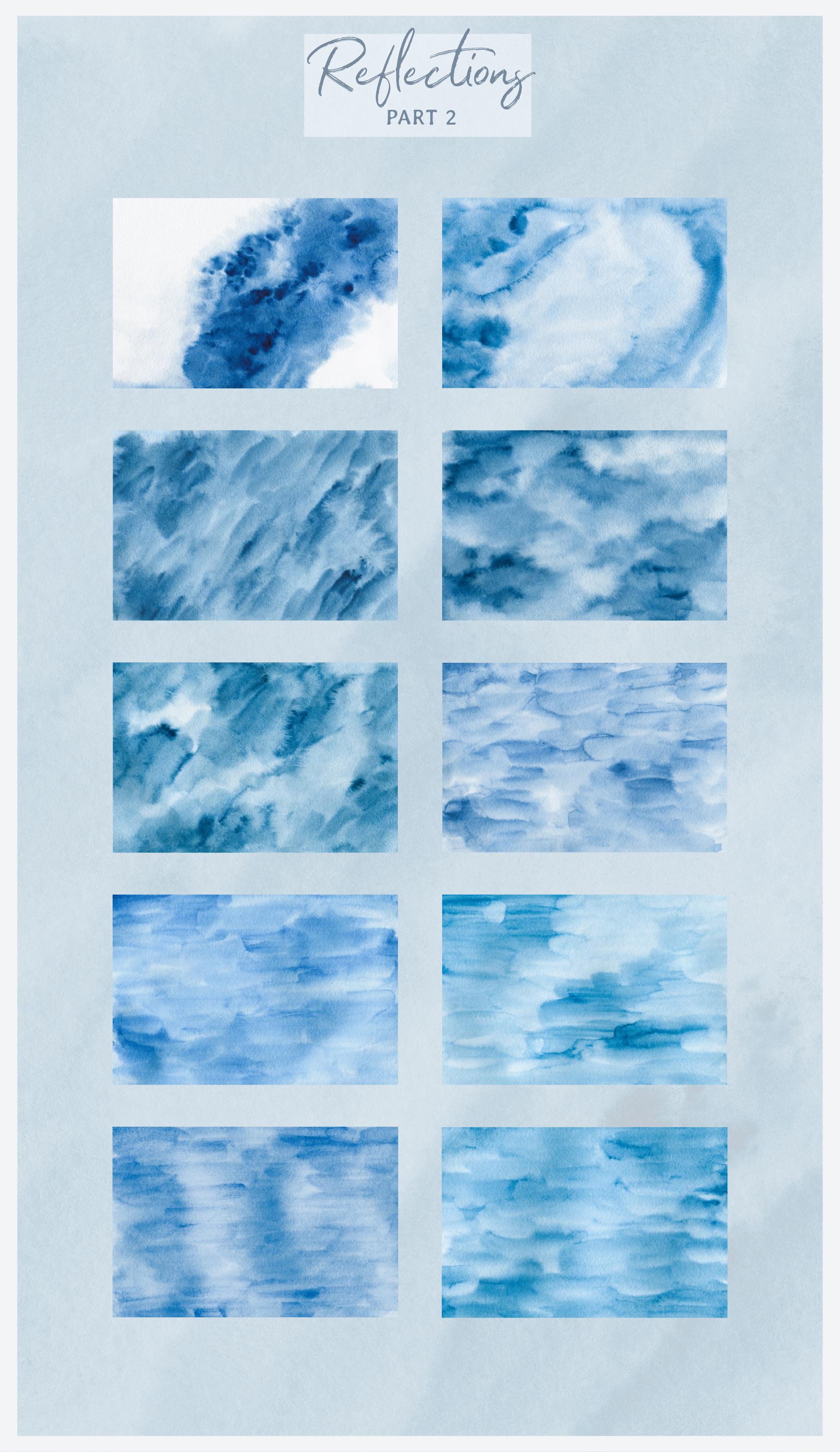 Watercolor Texture Collection example image 7