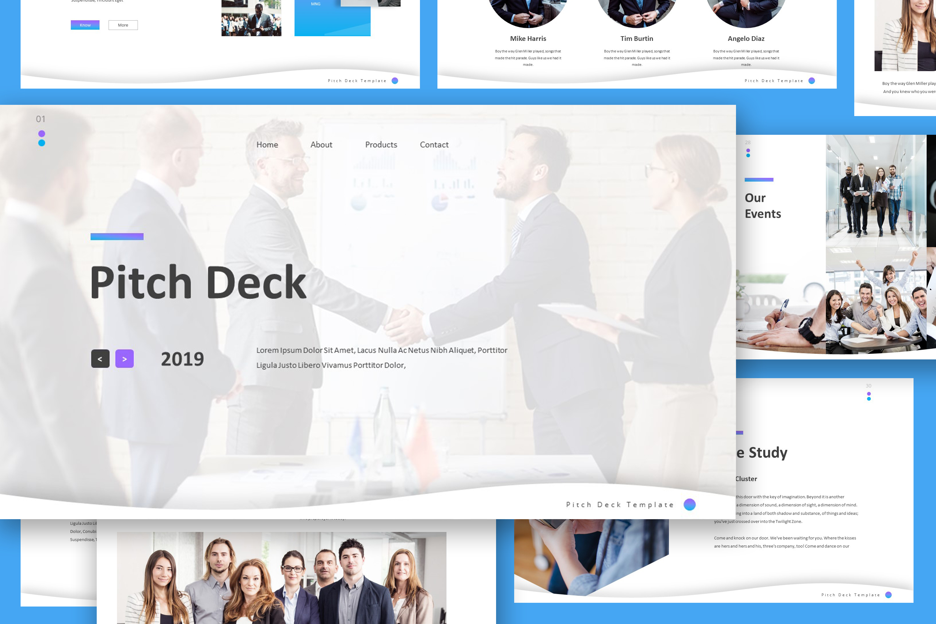 Pitch Deck Powerpoint Template example image 4