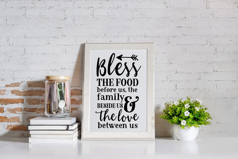 BIG Kitchen Sign Making Cut File Bundle example image 6