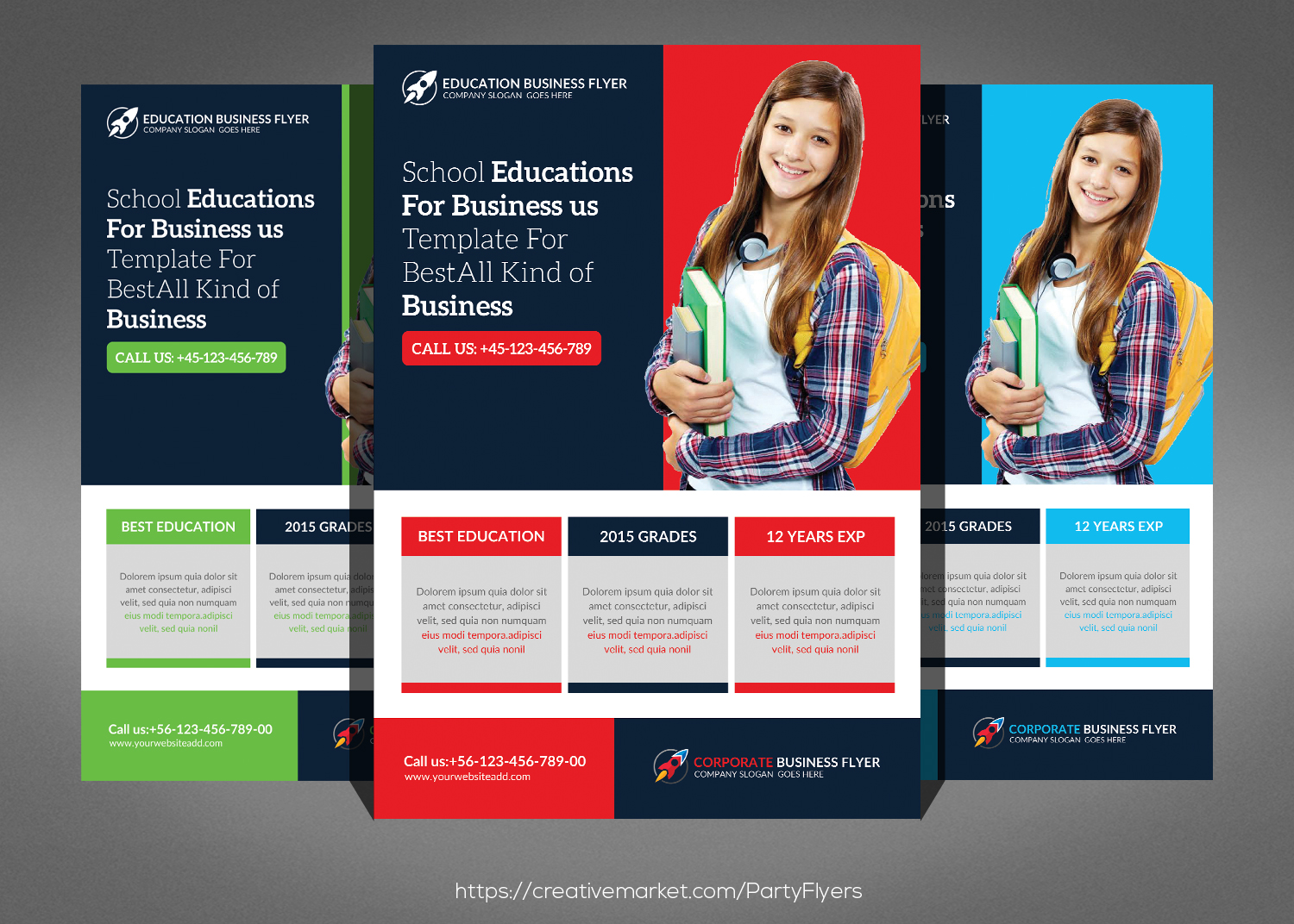 Corporate Flyer Bundle example image 3