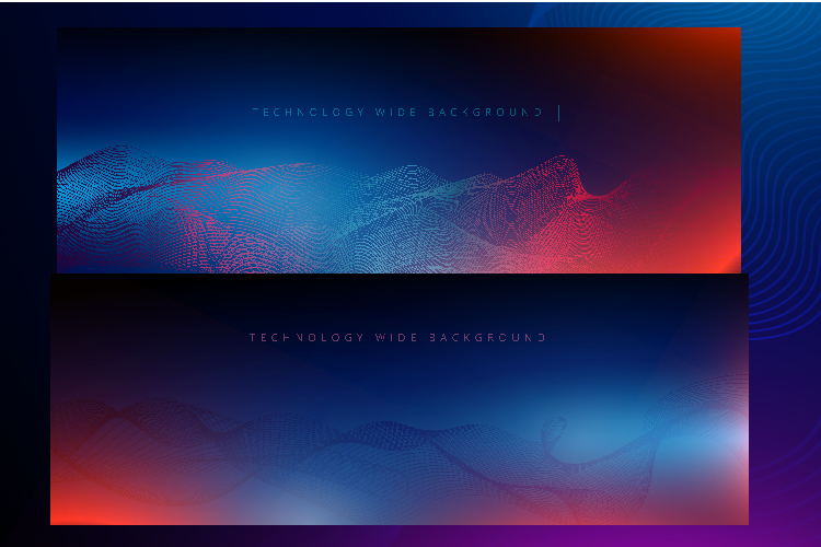 6 IN 1 WIDE SCREEN TECHNOLOGY BACKGROUNDS BUNDLE example image 2