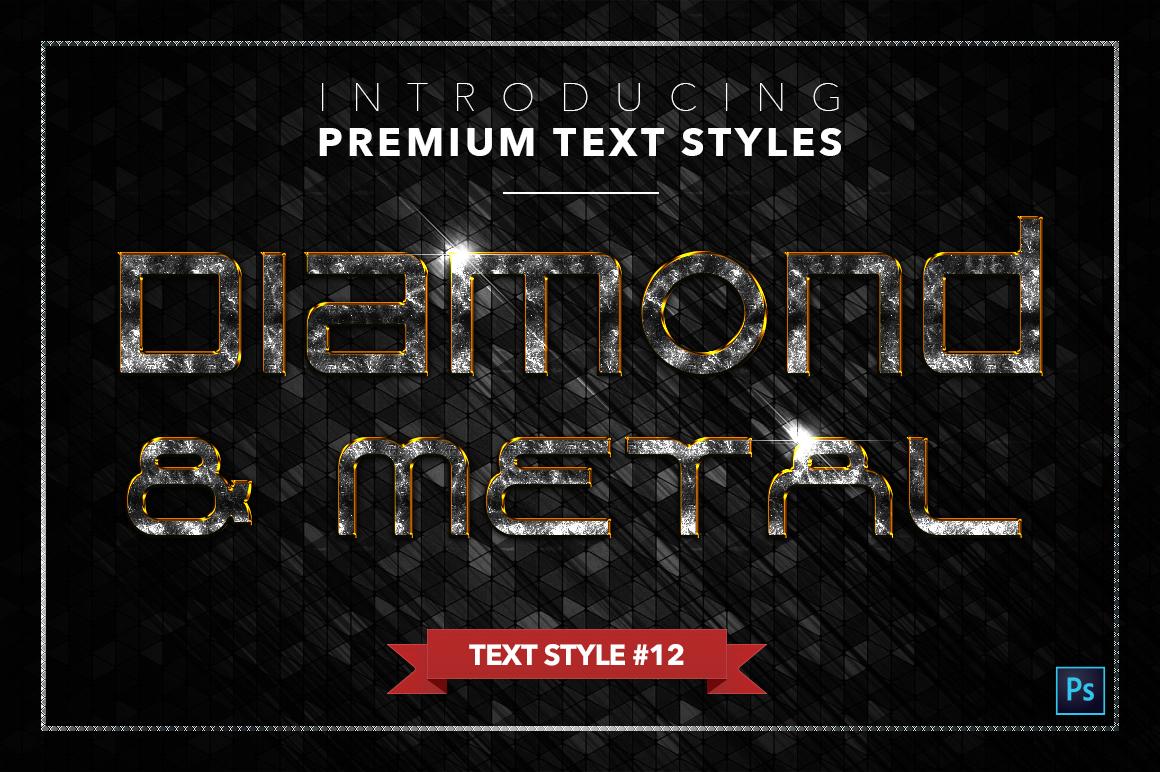 Diamond & Metal #3 - 18 Text Styles example image 13
