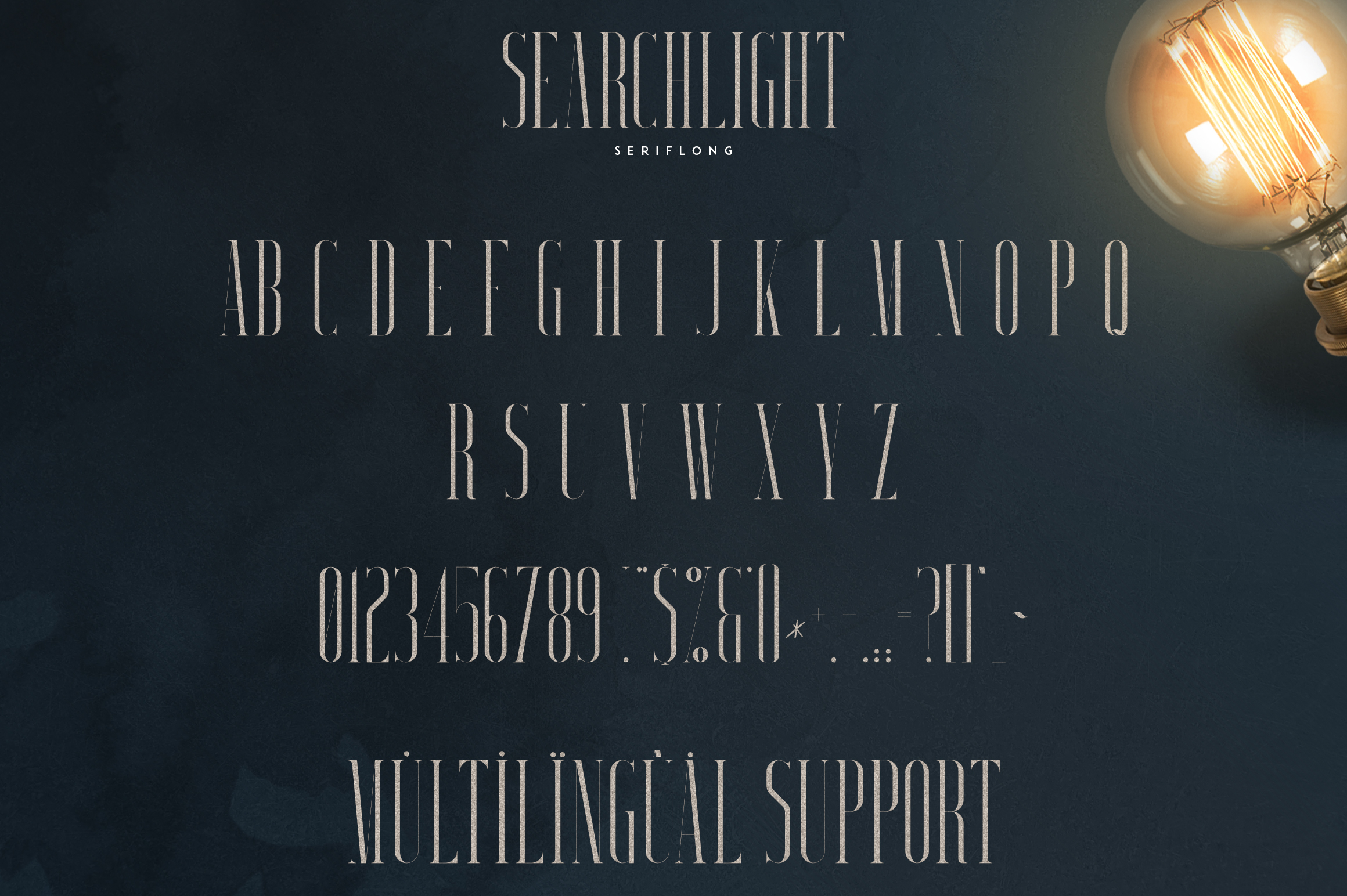 Searchlight - font trio example image 10