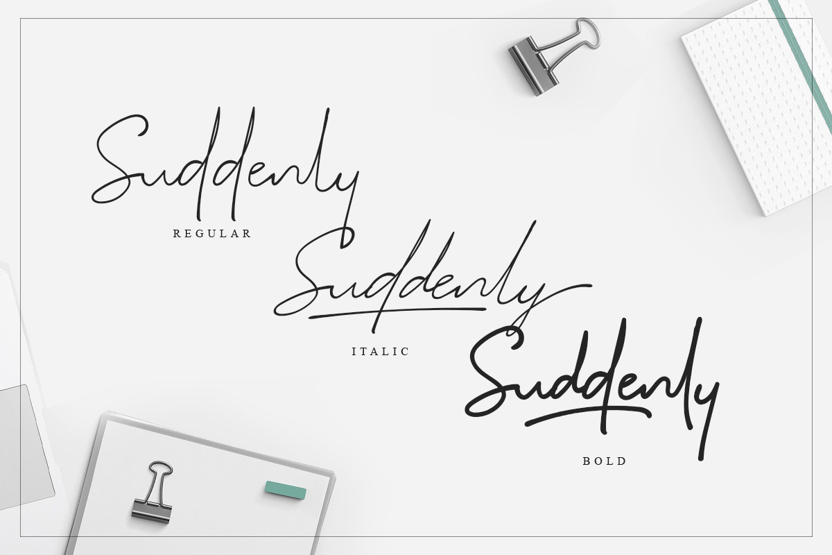 Suddenly - Signature Script example image 9