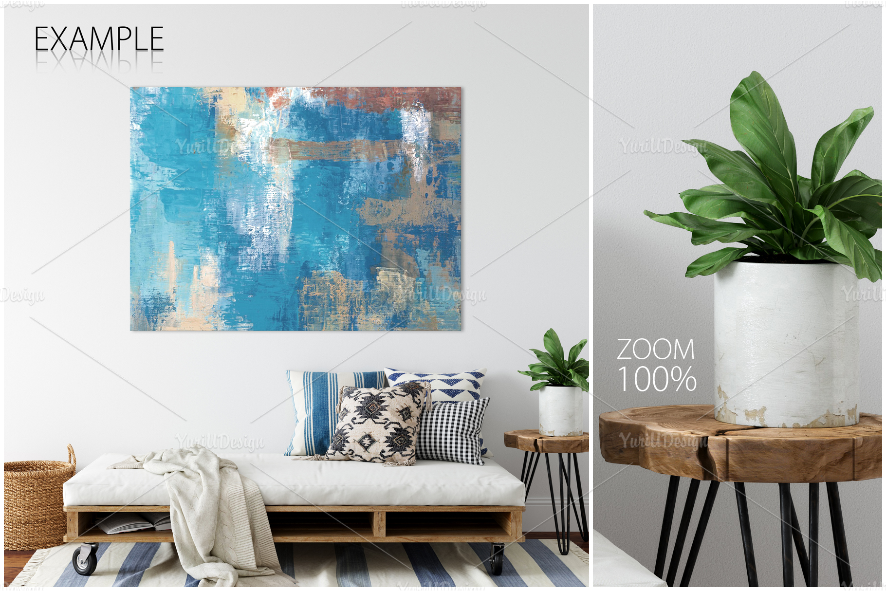 Frames & Walls Coastal Mockups Bundle example image 19