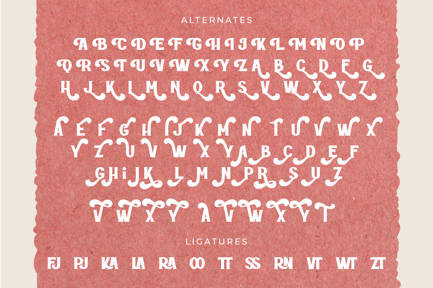 ROTTELY-DISPLAY FONT example image 10