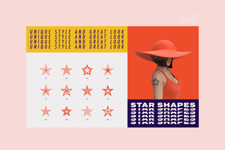 96 Geometric shapes & logo marks VOL.2 example image 10