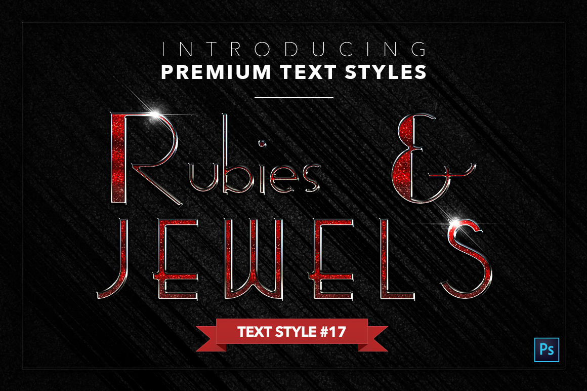 Rubies & Jewels #1 - 20 Text Styles example image 18