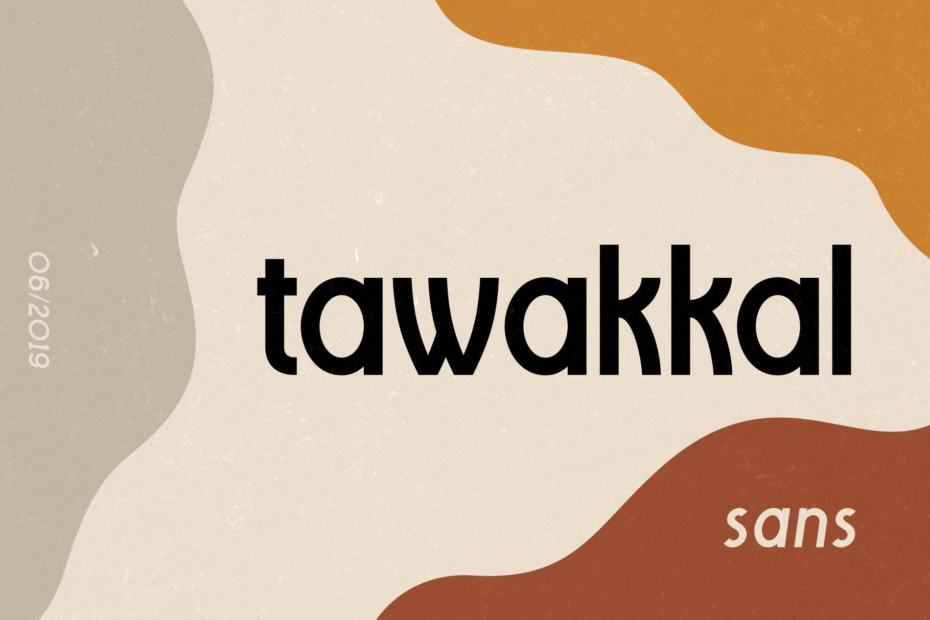 Tawakkal Sans example image 2