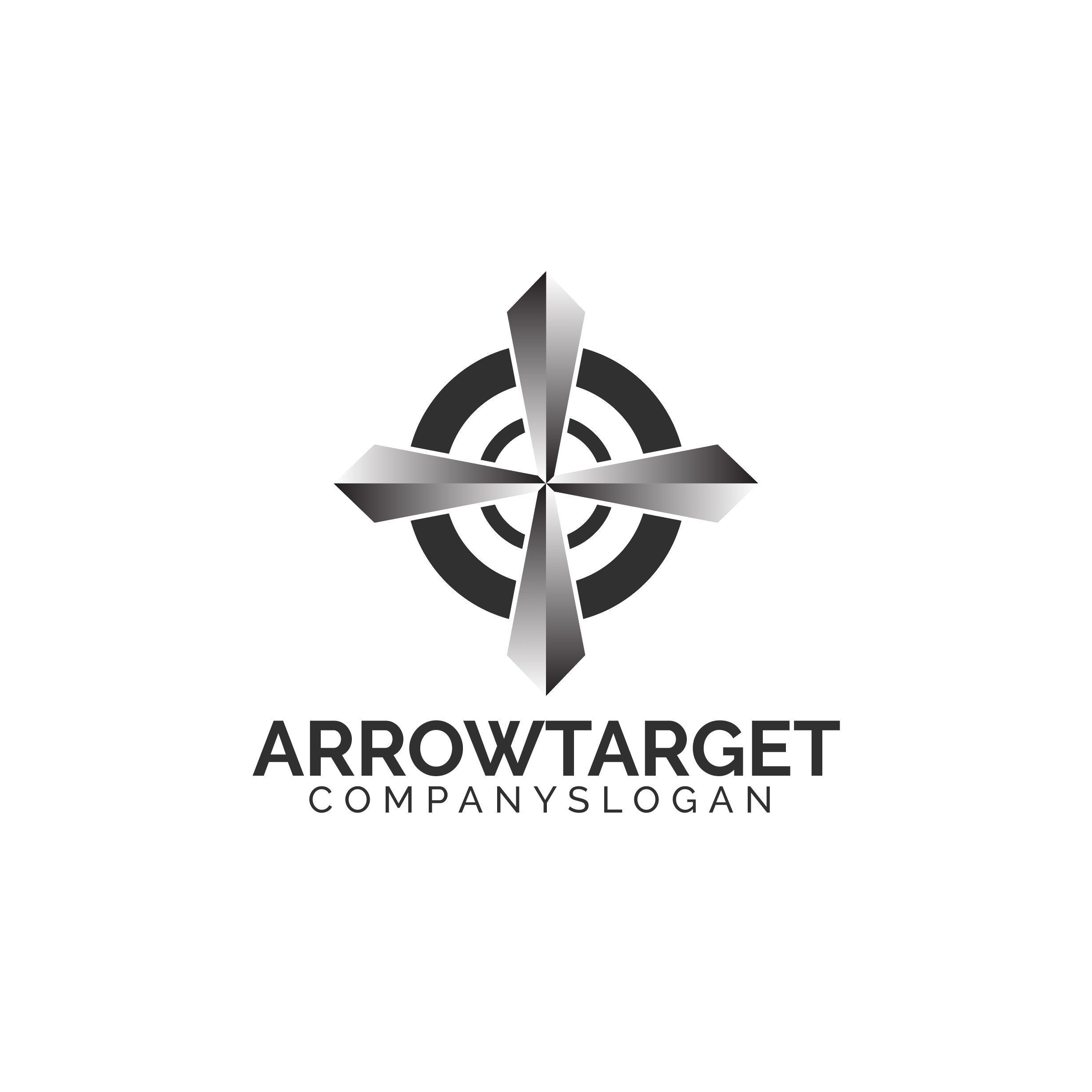 Arrow Target Logo example image 4